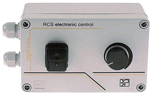 Drehzahlregler 1500W 230V 50Hz Länge 170mm Belastungsstrom 7,5A max. 12A