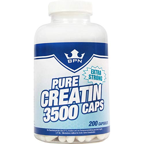 BPN Body Performance Nutrition Pure Creatin 3500 Caps, 200 Kapseln Made in Germany