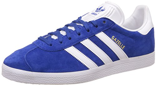 Adidas Unisex Adults Gazelle Multisport Outdoor Shoes, Blue (Collegiate Royal/White/Gold Met), 4...
