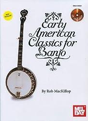 Mackillop Rob Early American Classics For Banjo Book/CD