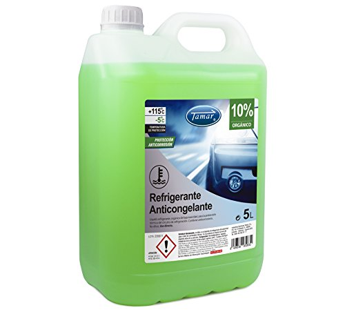 Tamar - Coolant / Antifreeze 10% Organic, Carafe of 5 Liters.