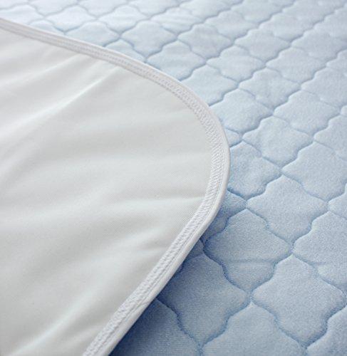 p-s-healthcare-alese-bleue-90-x-90-cm-protection-contre-lincontinence-4-plis-unique-relie-sans-ailes