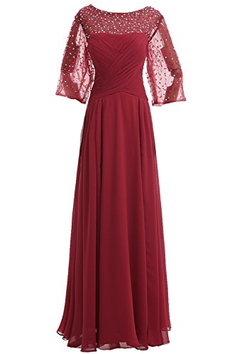 Missdressy Damen EL6716 Chiffon Abendkleider Lang Ballkleid (36)