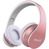 Aggiornato Sunvito Cuffie Bluetooth 4 in 1 Pieghevole Wireless Auricolari  con Mic 9847b323a20a