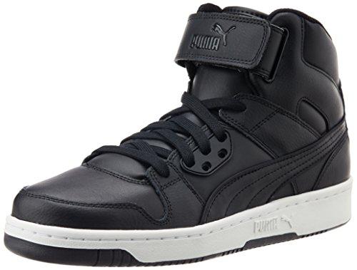 Puma Rebound Street L, Unisex-Erwachsene Hohe Sneakers, Schwarz (Black-Black 02), 46 EU (11 Erwachsene UK) (Fashion Street Uk)