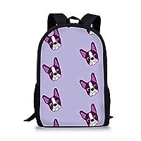 Boston Terrier Printing School Bags ZJZ260C
