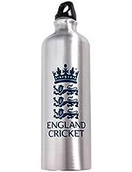 Inglaterra Cricket Metal botella de agua–Multi