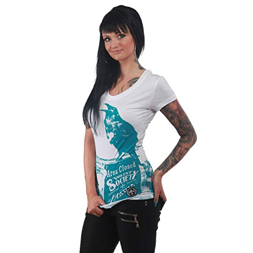 Yakuza Damen Rehab Line Crow T-Shirt