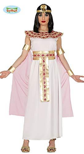 Guirca costume cleopatra nefertiti egiziana carnevale donna 8829_