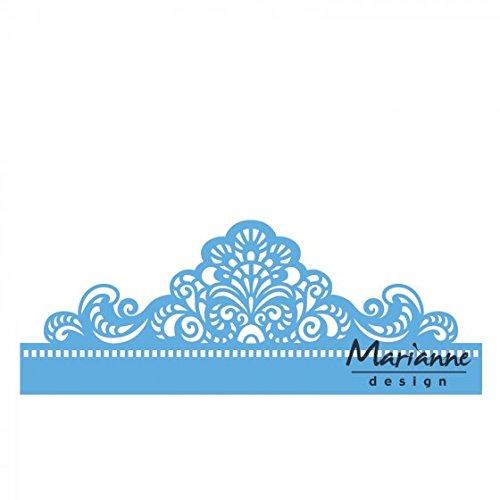 Marianne Design Creatables Fustelle Bordi Classici Metal Blue 19x7x3 cm