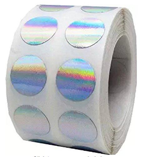 Tile & 1000, motivo ologramma Codice colore: pois piccoli, adesivi olografici a mezzo