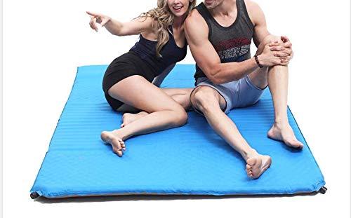 S.N LPZ Doppelte kampierende Mat Inflatable Camp Roll Mattress Self Inflating -