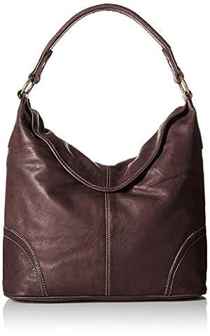 FRYE Campus Hobo Handtasche, Nussbaum, eine Größe