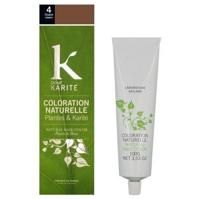 coloration-naturelle-plantes-karite-chatain-moyen-n4-tube-100-g-k-pour-karite