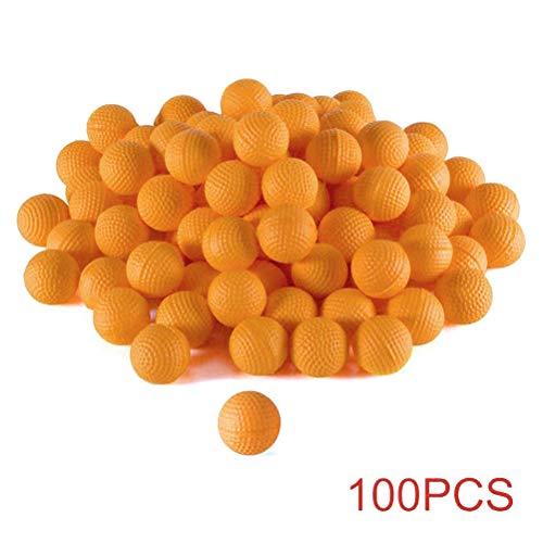 Bullet Balls, Bulk Spheres Reemplazo de Repuesto Recarga Redonda Bolas de munición Flechas Munición Redonda para Nerf Rival Apollo Zeus Niños Niños Juguete
