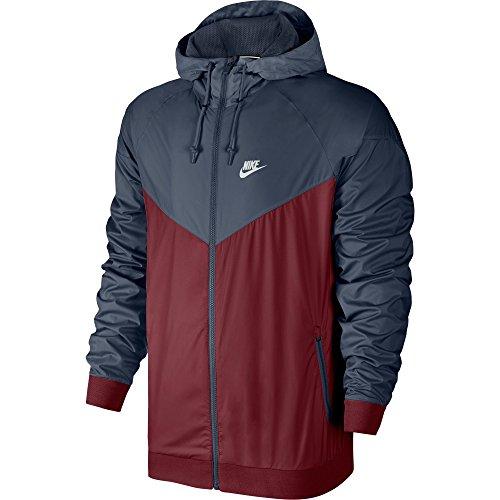 Nike 727324-679 Veste Homme, Rouge Équipe/Bleu Orage/Bleu Orage, FR : XL (Taille Fabricant : XL)