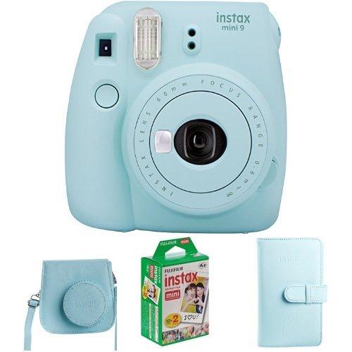 Fujifilm Instax Mini 9 Geschenkset, eis blau