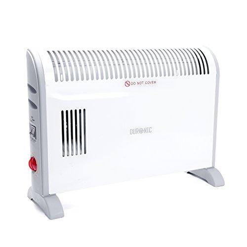 Duronic HV120 - Termoconvettore elettrico con termostato - 3 settaggi (750W / 1250W / 2000W)