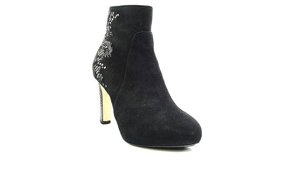 HÖGL Stiefelette schwarz Swarovski Steine: : Schuhe
