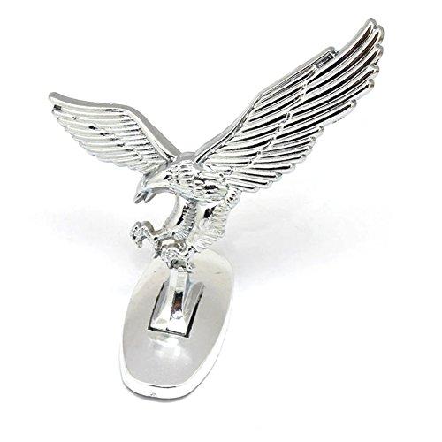 BEESCLOVER 3D-Emblem, Auto-Emblem, Auto-Verzierung, Chrom-Adler, für Auto