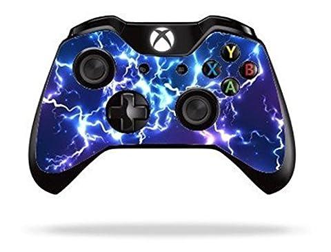 Stillshine Vinyl Wrap skin sticker for Microsoft Xbox One Controller Gamepad x 2 (Blue Electric)