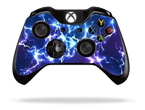 Stillshine XBOX ONE Controller Skin Aufkleber Sticker Folie Design Schutzfolie x 2 (Blue Electric)