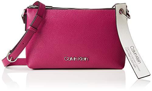 Calvin Klein Neat Ew Crossbody - Borse a tracolla Donna, Viola (Magenta), 5x15.5x25.5 cm (B x H T)
