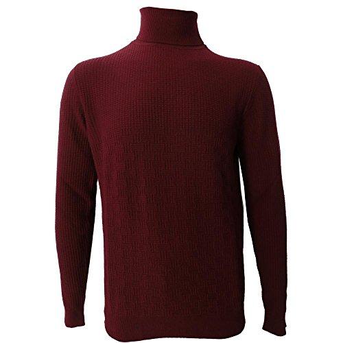 Dolcevita uomo +39 masq 0711 - maglia m90200 33% lana merinos, 33% viscosa, 24% poliammide, 10% cashmere - made in italy (xxxxl)
