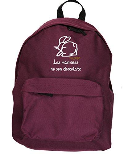 HippoWarehouse Las Marrones no son Chocolate kit mochila Dimensiones: 31 x 42 x 21 cm Capacidad: 18 litros