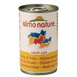 Almo Nature – Gatto Classic (Scatoletta 140 Grammi) – Coscia Di Pollo