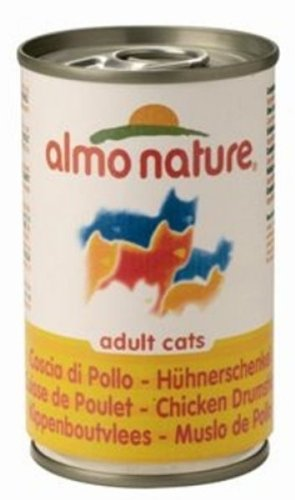 Almo nature - gatto classic (scatoletta 140 grammi) - coscia di pollo