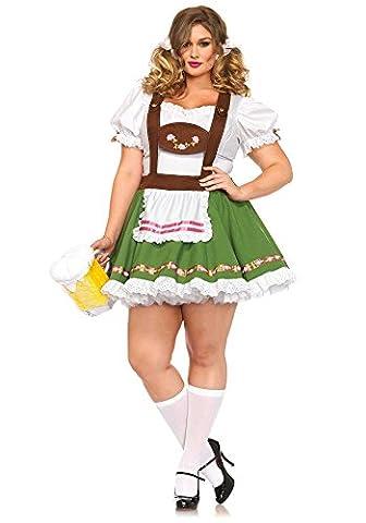 Leg Avenue Oktoberfest Sweetie Costume (Size 3X - 4X,