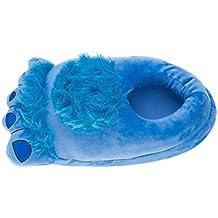 YOUJIA Mujer/Hombre Unisex Felpa Zapatillas de Estar en casa , Cómodo Pies Pantuflas Zapatos de Invierno - Tamaño: 34-43