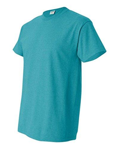 Delifhted Men's Heavy Cotton T-Shirt Antique Jade (50/50)