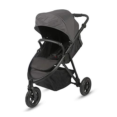knorr-baby 884101 - Passeggino sportivo Easysport3, colore: Nero/Grigio scuro/Blu