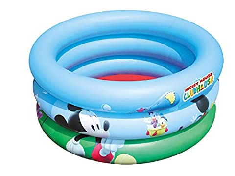 Gonflable Douche - PISCINE BAIGNOIRE BEBE GONFLABLE DISNEY MICKEY 70