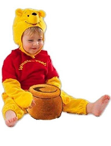 Costume carnevale baby winnie the pooh *12416 neo disney- 6/12 mesi