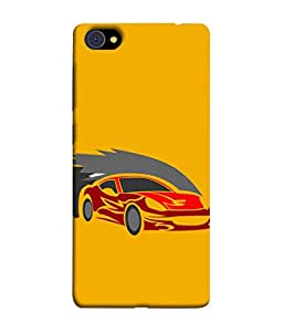 VIVo X7 Plus Back Cover Racing Car Icon Design From FUSON