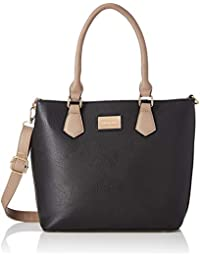 Satyapaul Women's Shoulder Bag (Black)