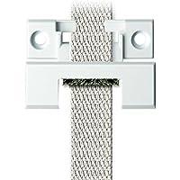 Schellenberg 15202 - Guía para cinta Duo de borde cuadrado Mini y Maxi, para cintas de persiana