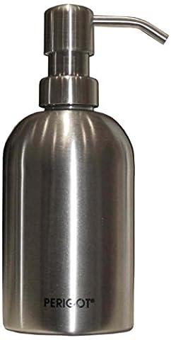Perigot SBDS002 Distributeur de Savon Liquide Inox Brossé 17 cm