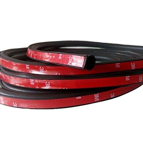 Mintice™ 315'10 millimetri x 8mm piccola auto guarnizione di tenuta in gomma del portello del veicolo automobile cavo D 8meter 3M