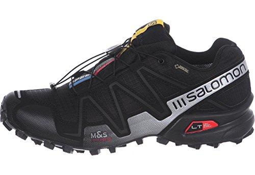 Salomon Speedcross 3 Gtx Damen Trail Runnins Sneakers black/black/silver metall