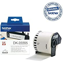 Brother P-touch DK-22205 62mm 30.48m Continuous Paper Labelling Tape