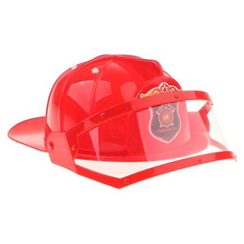 m Feuermann Helm, Geschenk für Kinder, aus Kunststoff ()
