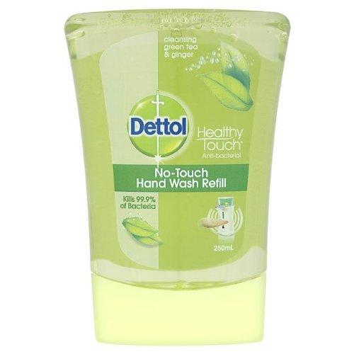 Sagrotan No Touch de lavage à la main Recharge nettoyante Green Tea & Ginger 4 x 250 ml