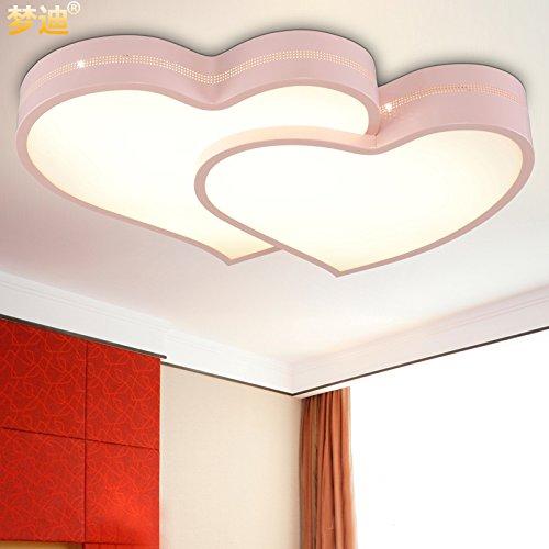 JJ LED modernes ceiling lamp plafonnier salle pour enfants filles adorent les couples mariés rose propriétaire de salle qui sont l'éclairage à LED, 50 cm de diamètre de creative,220V-240V