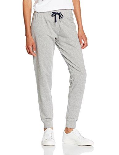 Tommy Hilfiger Iconic Lwk Track Pant, Pantalon de Sport Femme Gris - Grau (GREY HEATHER BC05 004)