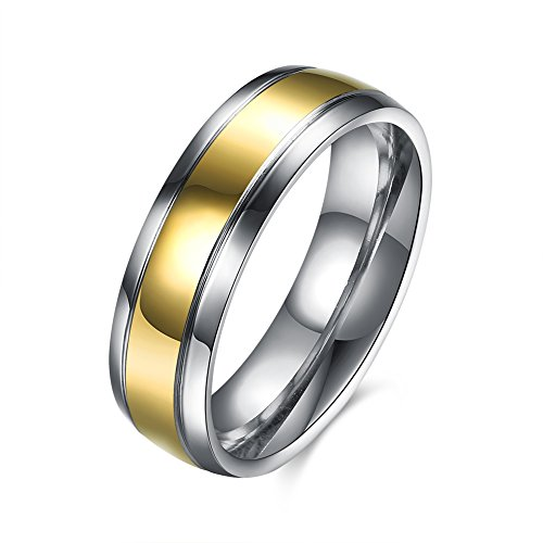 Fashion Men Ring Carbon Fiber Jewelry Stainless Steel Rings For Man Classic Christmas Gifts