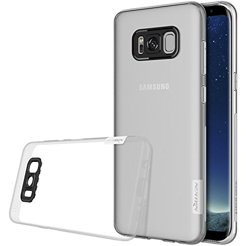 Galaxy S8 Plus Case, Nillkin Nature Series Clear Ultra Thin Slim Fit Soft TPU Case Back Cover for Samsung Galaxy S8 Plus – Clear